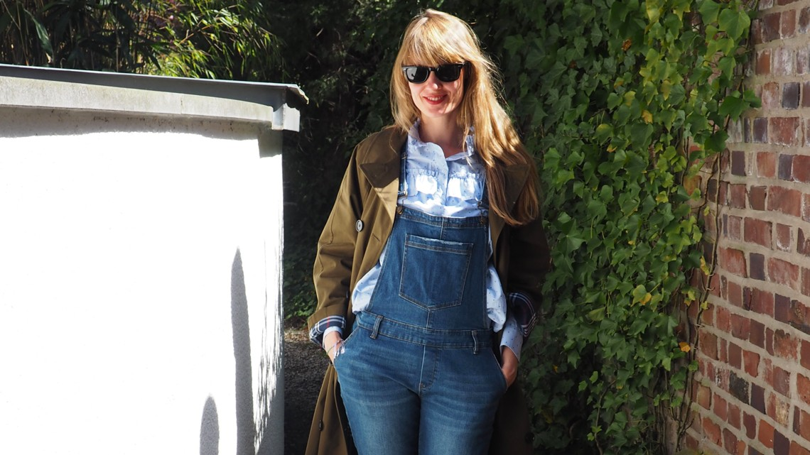 Outfit: Trenchgirl im Frühling