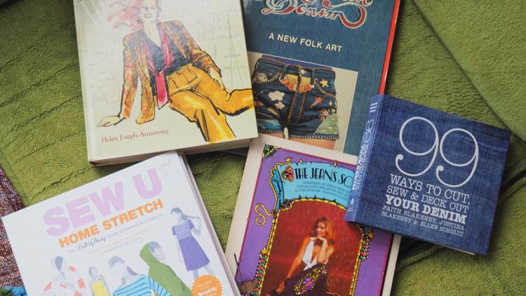 Vorgestellt: Meine liebsten Bücher in Sachen Nähen und DIY