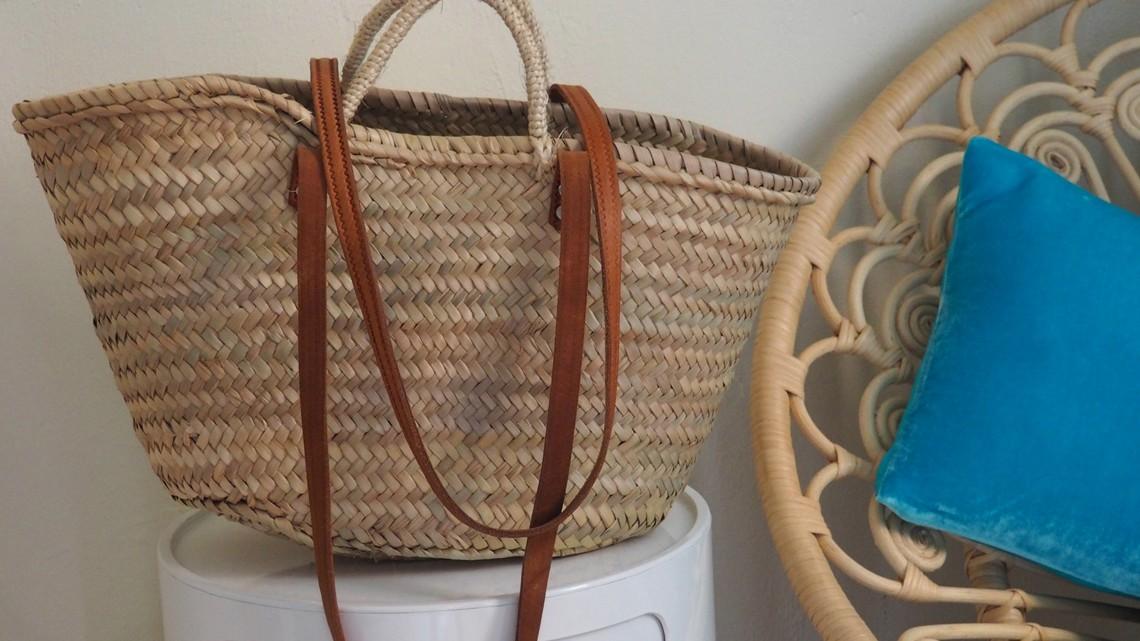 Mein Liebling der Woche: die Korbtasche aus Mallorca