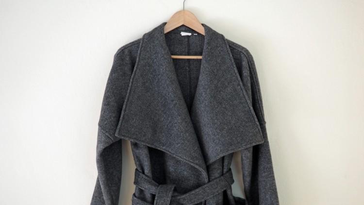 Mein Liebling der Woche: der graue Mantel