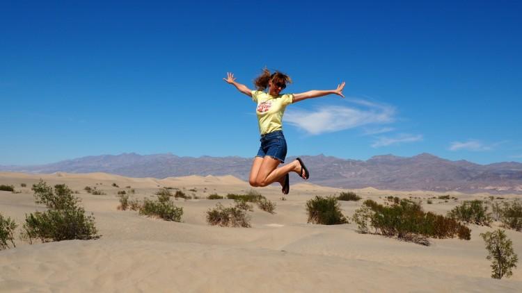 Kalifornien Roadtrip #1: Death Valley und ein Outfit im Reisemodus