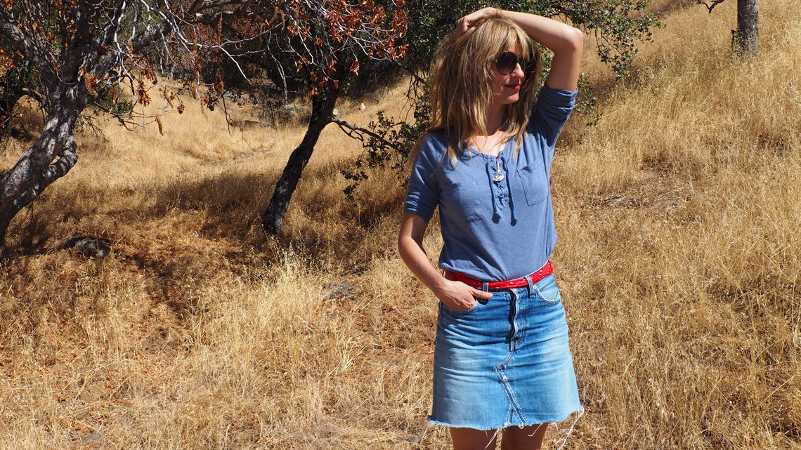 Outfit: In the foothills