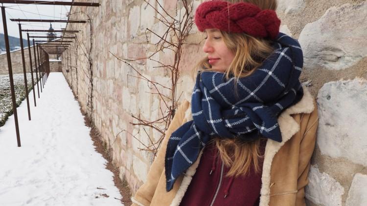 Outfit: Snowprincess auf Schloss Wilhelmsburg