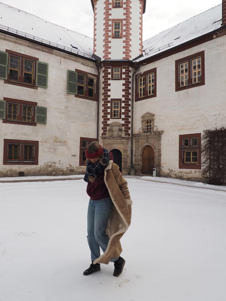 Maxifellmantel_Vintage_Stirnband_DIY_Schloss Wihelmsburg_Schmalkalden_8