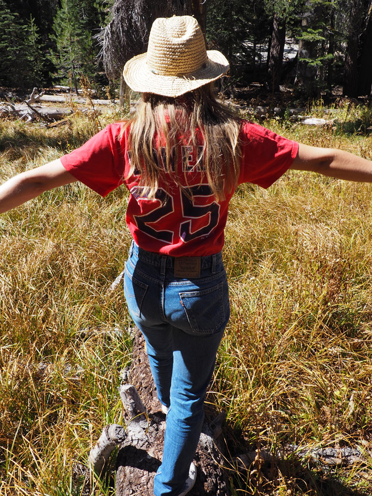 Shirt Vintage_Denim Levis 505_Yosemite Nationalpark_California