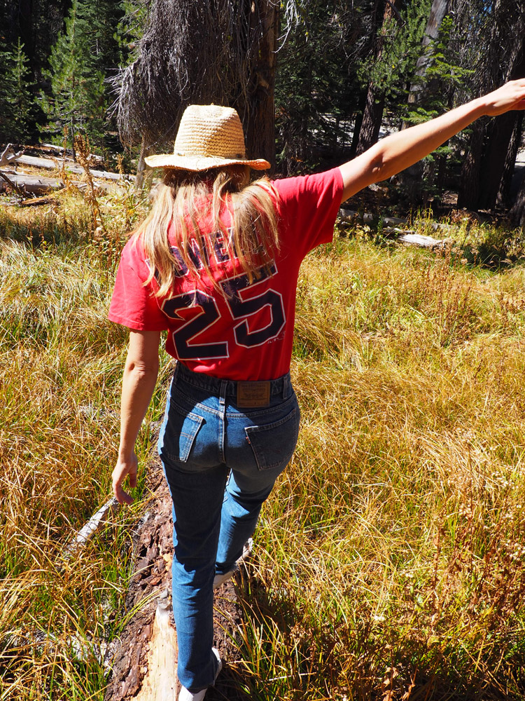 Shirt Vintage_Denim Levis 505_Yosemite Nationalpark_California_5