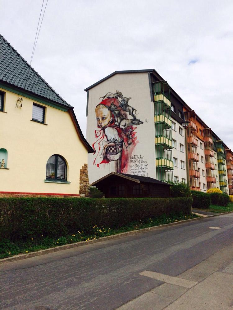 Streetart_Schmalkalden_Thüringen_golden cage