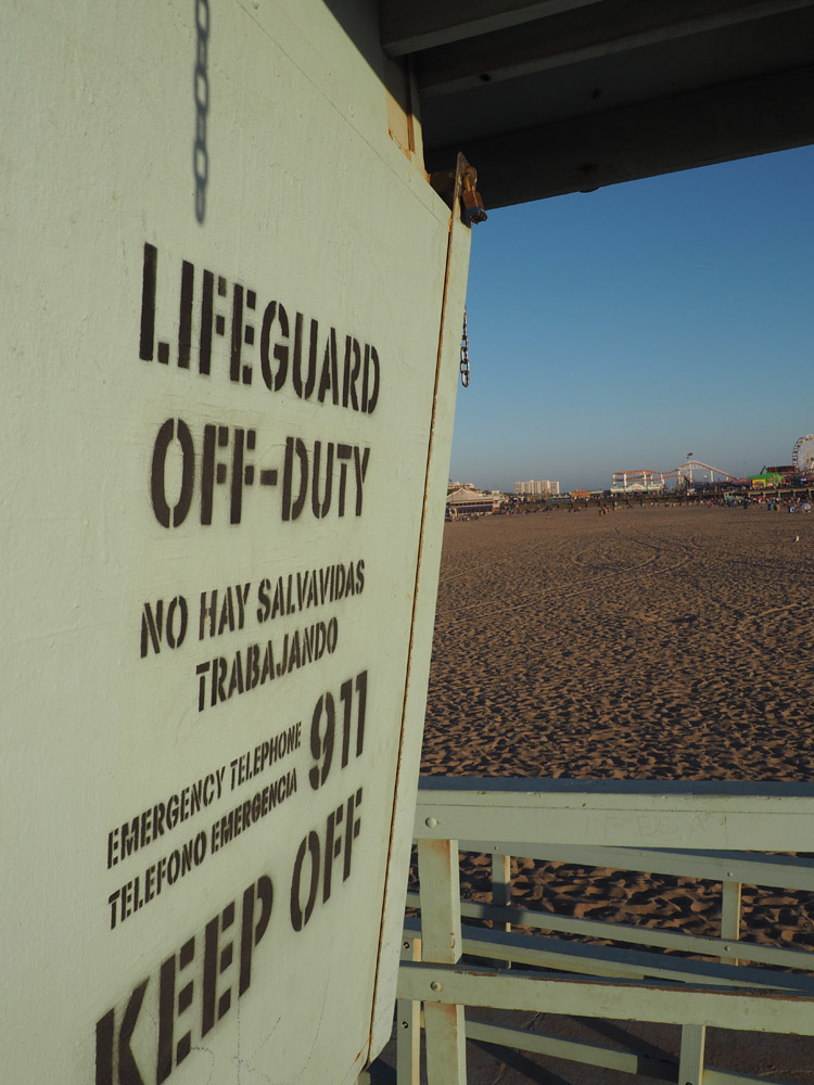 Santa Monica Beach_Rettungsturm_LA_golden cage