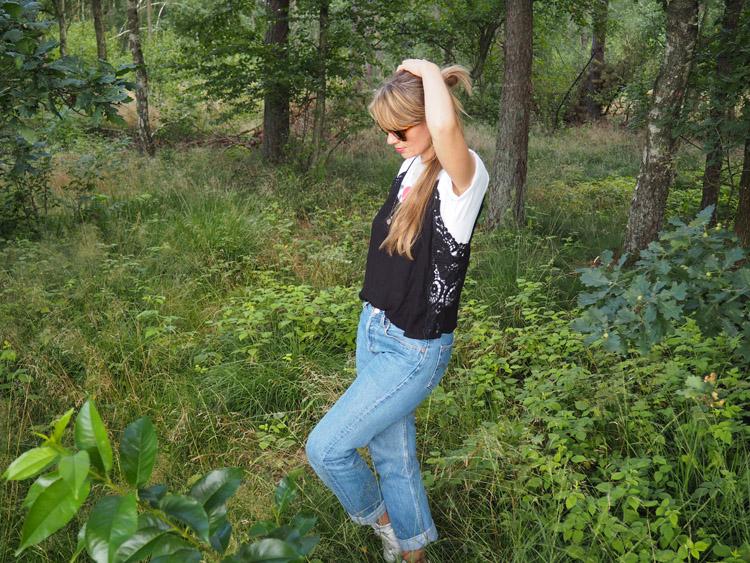 T-Shirt_Layering_zu_Blue Jeans_golden cage_5