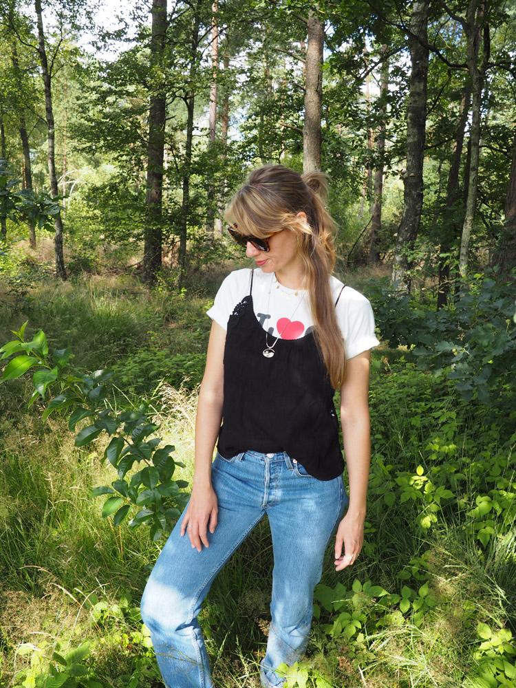 T-Shirt_Layering_zu_Blue Jeans_golden cage_3